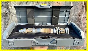 NEW STAR WARS GALAXYS EDGE REY SKYWALKER LEGACY LIGHTSABER DISNEY YELLOW LED NEW