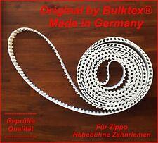 Bulktex®passend für Zippo Bühne Hebebühne Lift Zahnriemen Weiß 1250 1506 1511