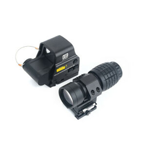 EOTECH 558 sight + 3x pineapple sight combo holographic sight combo