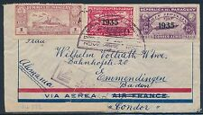 "ZEPPELIN ""PENELTON"" FLIGHT COVER PARAGUAY NOV 1935 BT653"