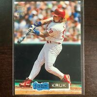 1994 John Kruk Topps Stadium Club Dugout Dirt #3 Philadelphia Phillies