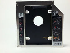 12.7mm SATA HDD 2nd Hard Drive Caddy Optibay for Laptops Universal CD DVD ROM
