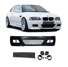 PARECHOC PARE CHOC M3 BMW SERIE 3 E46 BERLINE COUPE CABRIOLET + AB + SUPPORT