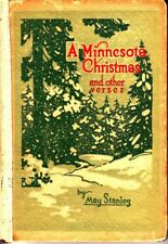 A Minnesota Christmas and Other Verses May Stanley Hardcover Book