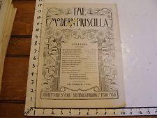 The Modern Priscilla : Lynn Mass 1904, Sept. vol XVIII # 7: Dress Front Irish