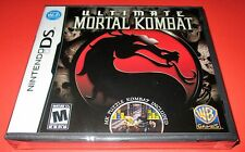 Mortal Kombat Nintendo DS-DSi-Lite-XL-3DS Factory Sealed! Free Shipping!!