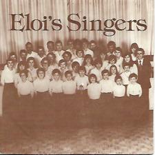 """ELOI'S SINGERS - Ognolles - 7"""" - EP - Chorale - Chant - Nesle - France"""
