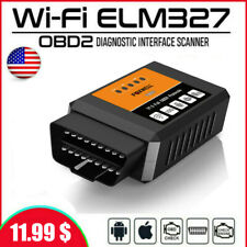 WiFi Diagnosis Car OBD2 Code Reader for IPhone Android iOS Scanner Tool ELM327