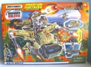 1998 Matchbox Mission Bravo Phantom Fortress Mission Bravo Factory Sealed