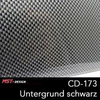 Wassertransferdruck Starterset WTD Film Folie 4 m 50 cm Breite - Carbon CD-173