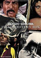 Sergio Sollima Italo-Western Box [4 DVDs] von Sergio Sollima   DVD   Zustand gut