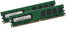 2x 1gb = 2gb Samsung RAM para Dell Dimension 4700c 5000 5100 ddr2 800 MHz