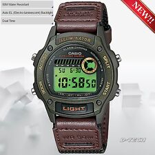 Casio W94HF-3AV Men Sport Digital Watch 50 Metter Water Resistance Dual Time New