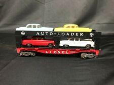 Vintage Lionel O/O-27 Scale Evans Auto Loader w/ FOUR Cars #6414