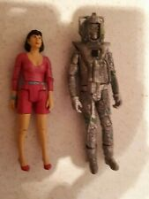 "Doctor Who - Peri and Rouge Cyberman 5"" Figures - Attack of the Cybermen"