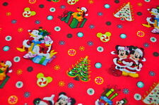 DISNEY MICKEY MOUSE USA Designerstoff WEIHNACHTEN MINNIE MOUSE CHRISTMAS