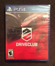 NEW Drive Club PS4*PlayStation 4*Driveclub Sports Racing Cars Simulator Game*