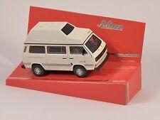 Schuco VOLKSWAGEN VW T3 Bus Camper With High Roof Joker White 1 64 Art 452014700