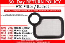 🔥 GENUINE FACTORY OEM HONDA VTC FILTER / GASKET (15845-RAA-A01) 🔥