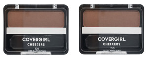 2 x NEW COVERGIRL CHEEKERS BLUSH - 130 ICED CAPPUCCINO - LOT OF 2 - FREE SHIP