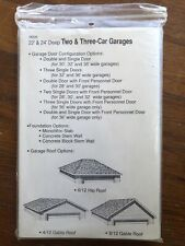 Garlinghouse Two & Three Car Garage Plans 06006 Built it Yourself