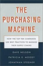 The Purchasing Machine: How the Top Ten Companies Use Best Practices to Manage