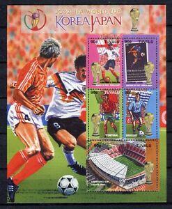 s7501) TUVALU 2002 MNH** WC Football - CM Calcio S/S