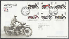 2005 Motorcycles Royal Mail FDC; Ref: 24