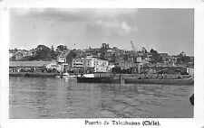 B84952 puerto de talcahuano chile ship bateaux chile