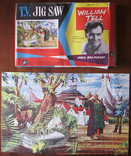 Vintage 1960 William Tell English TV Series Jigsaw Puzzle Bell Toy Productions