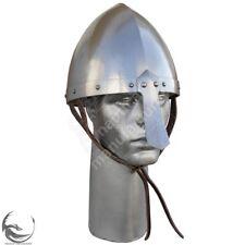 Collectible Norman Nasal Crusader Knight Helmet Steel Reenactment Nasal Mask Rep