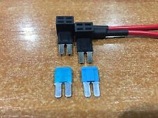 Add A Circuit Fuse Tap Micro2 Blade Fuse Holders x 2 ATM APM Plus 15 AMP Fuses
