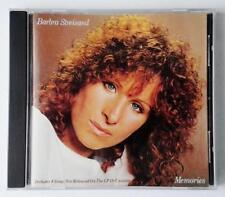 BARBRA STREISAND MEMORIES CBS RECORDS ORIGINAL CD - EXCELLENT USED CD85418
