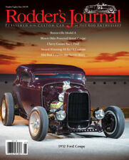 No. 81 RODDER'S JOURNAL 25th Anniversary 1932 Ford Coupe Newsstand Cover A