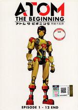 Atom: The Beginning DVD (1-12) - Japanese Ver. (Anime) - US Seller Ship FAST
