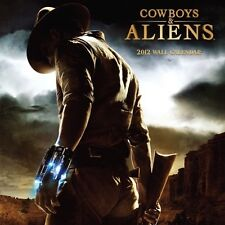 Cowboys & Aliens Movie 2012 Wall Calendar NEW SEALED
