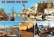 BR23570 Le Grau du Roi Le Chenal et sa flotille de peche  france