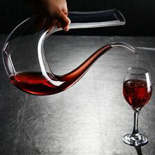 1500ML Crystal Wine Aerator Wine Decanter Glass Wine Pourer Red Wine Carafe