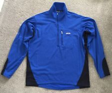 Vintage Patagonia Regulator R1 Pullover 1/4 Zip Fleece- Men's Large (SEE NOTES)