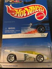Hot Wheels 1997 White Ice Shadow Jet #562 1:64 Diecast Car #2 Of 4 Cars ~ New
