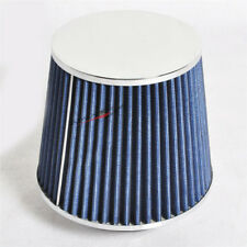 Fit For Accord Civic Integra P Style Intake 3 Blue Cold Air Inlet Filter