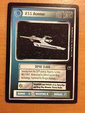 Star Trek CCG First Contact U.S.S. Bozeman NrMint-Mint