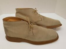 Tods Italy Tan Suede Chukka Desert Ankle Boots Mens UK 11 US 12