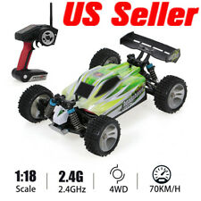 WLtoys A959-B 2.4G 1/18 Scale 4WD 70KM/h Electric RTR Off-road Bugy RC Car M6D8