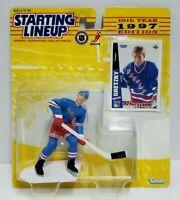 WAYNE GRETZKY New York Rangers Kenner Starting Lineup NHL SLU 1997 Figure & Card