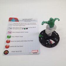 Heroclix Avengers Assemble set Whirlwind #030 Uncommon figure w/card!