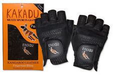 The Ultimate 100% Kangaroo Leather Cycling Gloves - Ultra Thin, Ultra Light