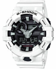 Casio G-SHOCK GA700-7A White/Black Analog Digital 200m Men's Watch