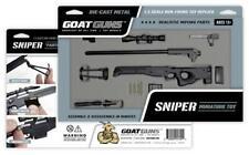 Goat Guns Black AI 1:3 Scale Model Replica Sniper Rifle with Bipod High Quality