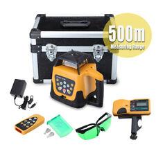 Automatic Self Leveling 360 Rotary Rotating Green Laser Level Kit 500m Range
